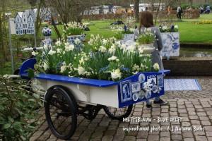 Blue Delft Garden 40 p - ORG