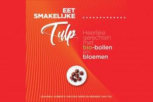 Boek eet smakelijke tulp